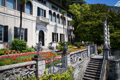 Villa Monastero, Lake Como, Italy Stock Photo