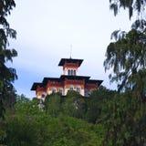 Villa Moretti (het huis van de vrijheidsstijl) in Tarcento, Royalty-vrije Stock Foto's