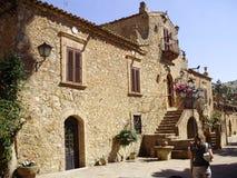 Villa-Museo una piazza Armerina immagine stock