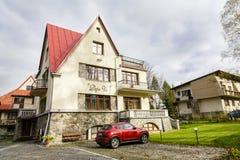 Villa named Deja Vu in Zakopane Stock Photos