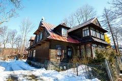 Villa named Olma in Zakopane Royalty Free Stock Image