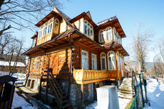 Villa named Ostoja in Zakopane Royalty Free Stock Photography