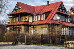 Villa named Pani Zosia in Zakopane Royalty Free Stock Photos