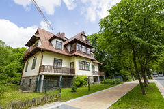 Villa named Polana in Zakopane, Poland Stock Images