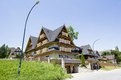 Villa named U Sabalow in Zakopane Royalty Free Stock Photography