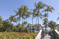 Villa in Naples, Florida stock image