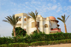 The villa near beach at the luxury hotel Stock Photo