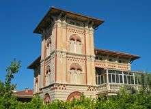Villa near the sea #2. An old villa near the sea in Tuscany - Italy Royalty Free Stock Image