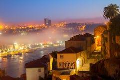 Villa Nova di GayaVilla van Porto, Portugal Royalty-vrije Stock Foto's