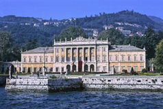 Villa Olmo, Como Stock Photo