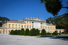 Villa Olmo, Lake Como, Italy Royalty Free Stock Images
