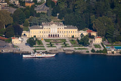 Villa Olmo, Lake Como, Italy Royalty Free Stock Photography