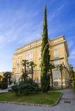 Villa in Opatija. Croatia. Stock Image