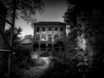 Villa Oppenheim - Spookhuis royalty-vrije stock afbeelding