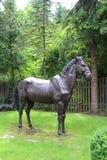 Beautiful statues outside Villa Orania in Bad Gastein, Austria royalty free stock photo