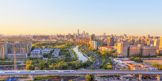 Beijing city Royalty Free Stock Photo