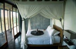 Villa på Bali, stor inre royaltyfri foto