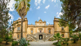 The Villa Palagonia is a patrician villa in Bagheria, Italy. Royalty Free Stock Photography