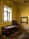 Villa Paldiski (ruin). Yellow room in Villa Paldiski (ruin Royalty Free Stock Photography