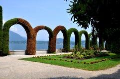 Villa Pallavicino royaltyfri foto
