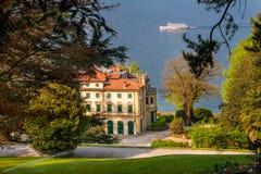 Villa Pallavicino, Stresa Piedmont, italy 17 April 2015 Stock Images