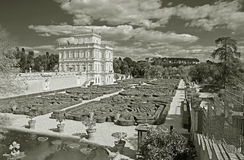 Villa pamphili in rome,italy Royalty Free Stock Image