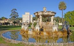 Villa pamphili in rome Royalty Free Stock Photo