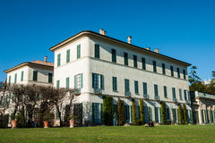 Villa Panza Royalty Free Stock Photo