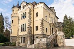 Villa Paradiso in Art Nouveau style. Stock Image