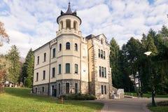 Villa Paradiso in Art Nouveau style. Stock Photos