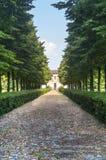 Villa and park near Mantua Royalty Free Stock Photos