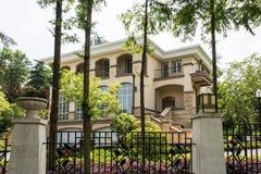 Villa. This photo was taken in Zhenzhu Fountain Scenic Area,Nanjing city,china.The photo was taken as 2015.5.13 Stock Image