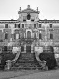 Villa Pignatti-Morano is a three-story seventeenth century villa. Custoza, Italy - March 11, 2017: Villa Pignatti-Morano is a three-story seventeenth century royalty free stock image