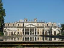 Villa Pisani. Famous venetian villas in the Veneto Region (Italy Royalty Free Stock Photo