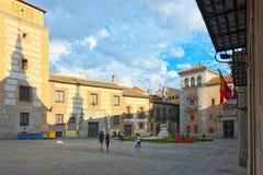 Villa Plaza de la Villa-家Sqare Casa的de la Villa, Th 图库摄影