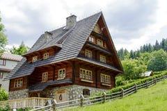 Villa Pod Smrekami in Zakopane Stock Image
