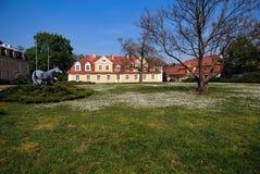 Villa Polen, Europa Stockfotografie