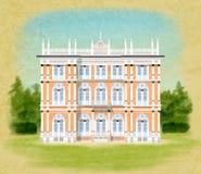 Villa Ponti Royalty Free Stock Image