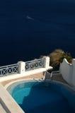 Villa pool Stock Image