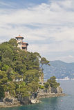 Villa in Portofino Stock Photo