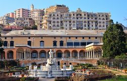 Villa of the Prince, Genoa Royalty Free Stock Photography