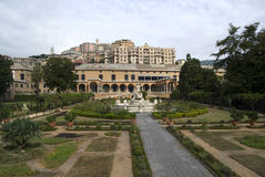 Villa of the Prince Genoa Royalty Free Stock Photo