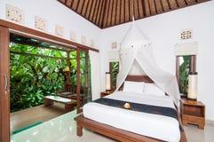 Villa privée traditionnelle Images stock