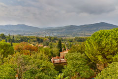 Villa in Provence Countryside Royalty Free Stock Photography