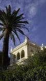 Villa quadrata Fotografia Stock