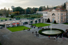 Villa reale Royalty Free Stock Photo