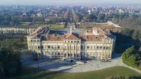 Villa Reale garden, Monza, Italy. Stock Photo