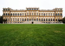 Villa Reale, Monza, Italy. Villa Reale 01/10/2017. Royal gardens and park of Monza. Palace, neoclassical building. Villa Reale Monza, Italy, great historic royal Stock Images