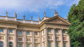 Villa Reale palace Royalty Free Stock Images