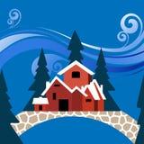 Villa stock illustration